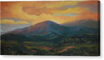 Evening Ablaze Canvas Print by Gary Gore