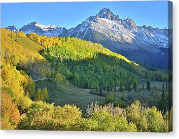 Canvas Print featuring the photograph Evening Along County Road 7 by Ray Mathis