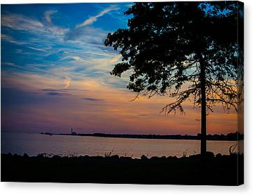 Evening Approaches Canvas Print