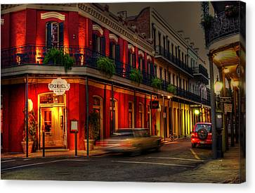 Evening At Muriels Canvas Print by Greg and Chrystal Mimbs
