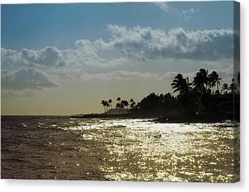Evening At Poipiu Kauai Canvas Print