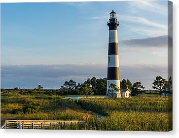 Evening At The Lighthouse Canvas Print by Gregg Southard