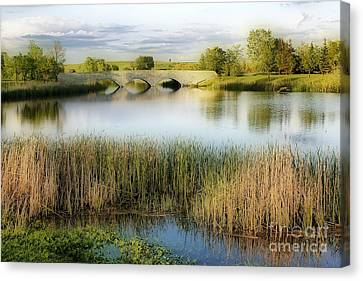 Evening Calm Canvas Print by Teresa Zieba