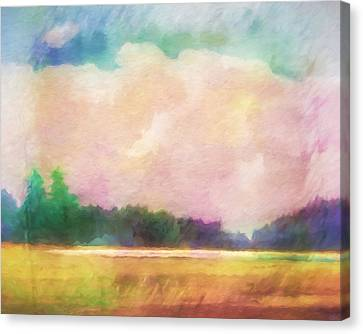 Evening Colorplay Canvas Print by Lutz Baar