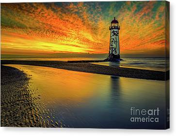 Canvas Print featuring the photograph Evening Delight by Adrian Evans