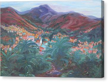 Evening In Guanajuato Canvas Print