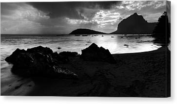 Mauritius Canvas Print - Evening In Le Gaulatte by Julian Cook