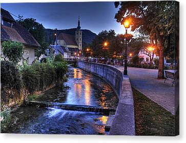 Evening In Samobor Canvas Print
