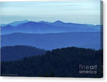 Oregon Blues  Canvas Print