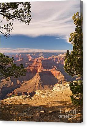 Hopi Canvas Print - Evening Light At Hopi Point by Alex Cassels