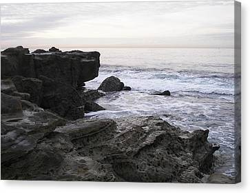 Canvas Print featuring the photograph Evening Light by Carol  Bradley
