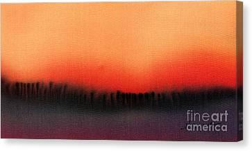 Evening Mist Canvas Print by Addie Hocynec