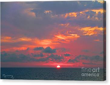 Evening Ritual Canvas Print