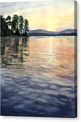 Evening Shades Canvas Print by Lane Owen