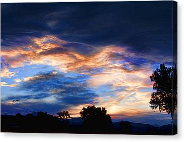 Evening Sky Canvas Print by James BO  Insogna