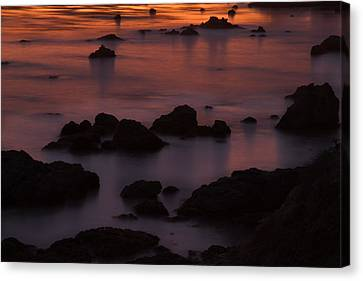 Evening Solitude Canvas Print