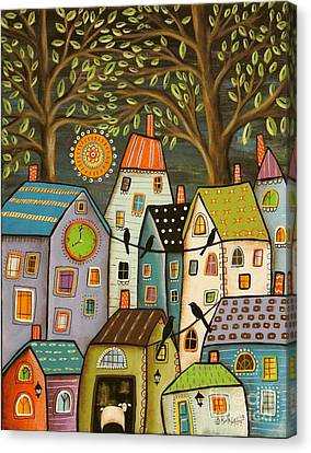 Evening Song Canvas Print by Karla Gerard