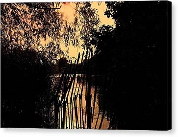 Evening Time Canvas Print by Keith Elliott