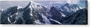 Everest Canvas Print by Andrei Fried