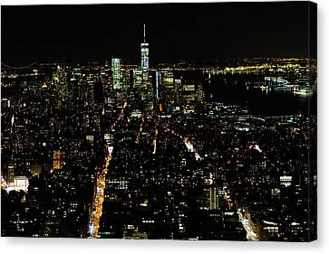 Everglow Of New York  Canvas Print