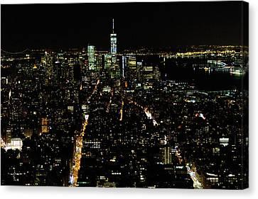 Everglow Of New York  Canvas Print