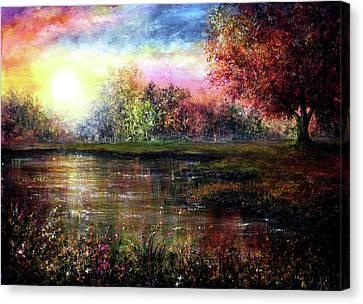 Everlasting Love Canvas Print by Ann Marie Bone