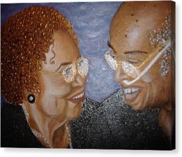 Everlasting Love Canvas Print by Keenya  Woods