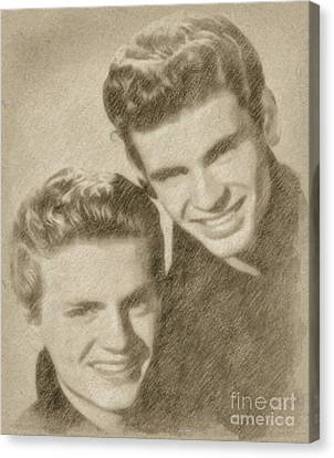 Everly Brothers Canvas Print