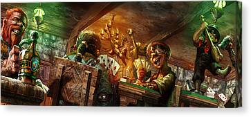 Everquest Brew Day Canvas Print by Ryan Barger