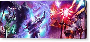 Everquest Celebration Canvas Print by Ryan Barger
