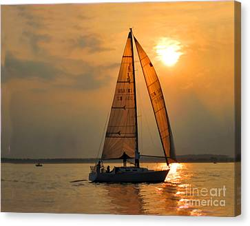 Every Once In A While Canvas Print by Christine Segalas