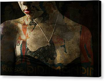 Every Picture Tells A Story Canvas Print by Paul Lovering