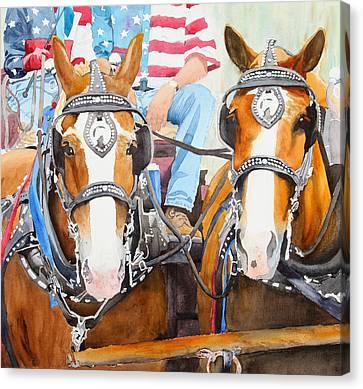 Everybody Loves A Parade Canvas Print