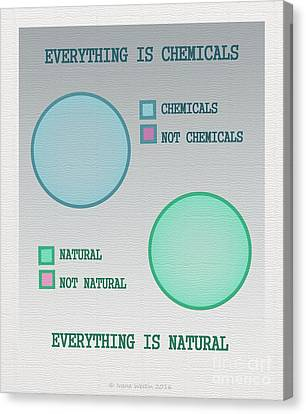 Everything Is Canvas Print by Ivana Westin