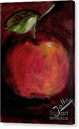 Eve's Apple.. Canvas Print