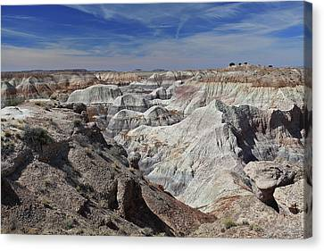 Canvas Print featuring the photograph Evident Erosion by Gary Kaylor