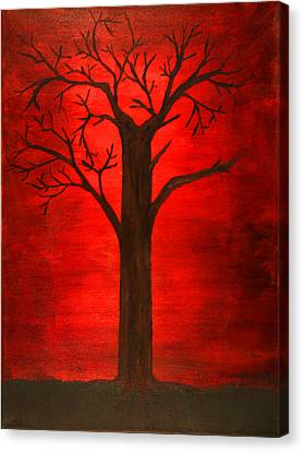 Evil Tree Canvas Print