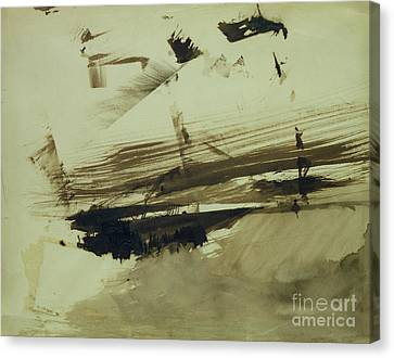 Evocation Of An Island Canvas Print by Victor Hugo