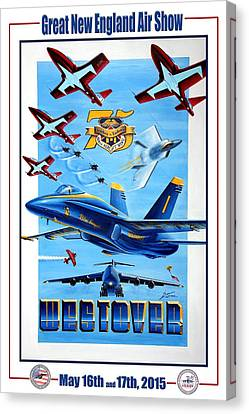 Aviationart Canvas Print - Evolution In Excellence  by Peter Ring