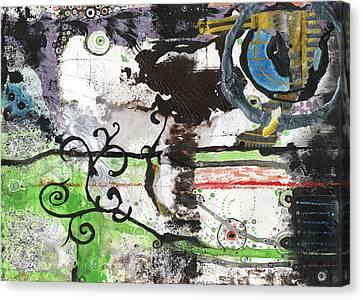 Jay Taylor Canvas Print - Evolution Revolution  by Jay Taylor