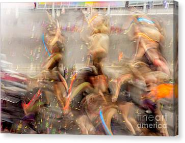 Evolutionary Canvas Print by Az Jackson