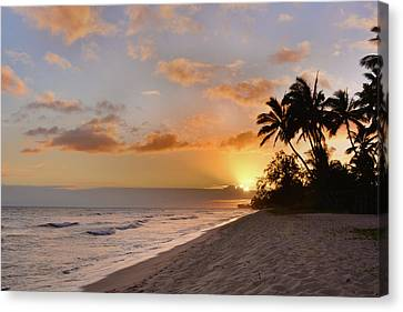 Ewa Beach Sunset - Oahu Hawaii Canvas Print by Brian Harig
