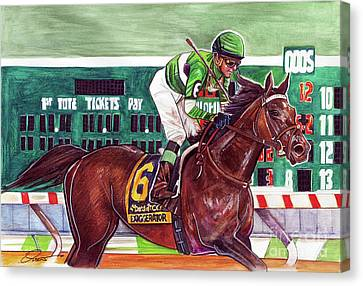 Exaggerator Canvas Print by Dave Olsen