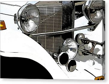 Excalibur Posterized Canvas Print by Adriana Zoon