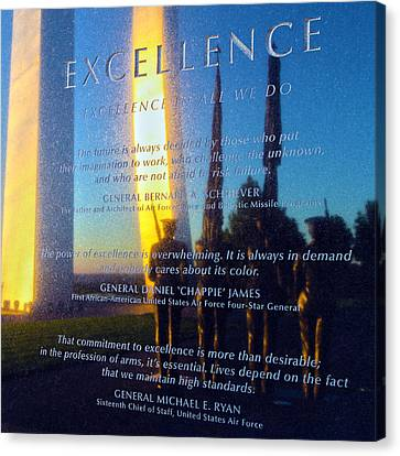 Value Canvas Print - Excellence by Mitch Cat
