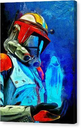 Execute Order 66 Remake - Da Canvas Print by Leonardo Digenio