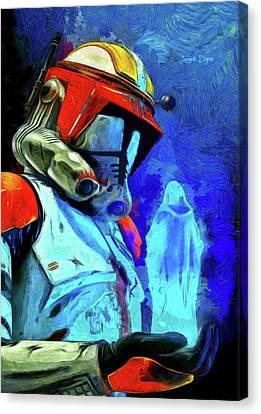 Execute Order 66 Remake Canvas Print by Leonardo Digenio