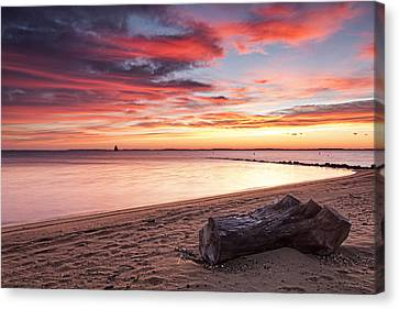 Canvas Print featuring the photograph Exhale by Edward Kreis