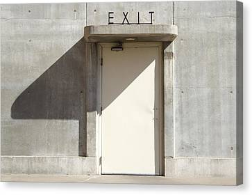 Exit Canvas Print by Mike McGlothlen