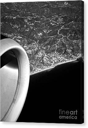 Exit Row - Window Seat Canvas Print by Gwyn Newcombe